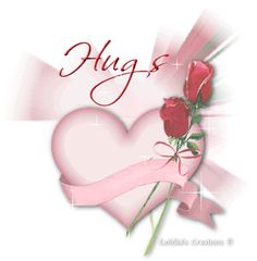 Hugs with Awesome heart