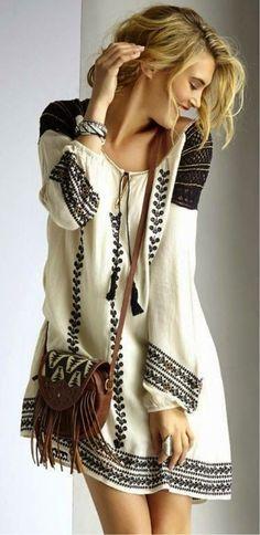 Boho inspiration dress