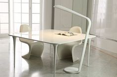 Ray is the UK's first British company to combine high-quality, bespoke designs from the world's leading manufacturers such as Foscarini, Artemide, Flos Panton Chair, Desktop Lamp, Bespoke Design, Pantone, Lighting Design, Dining Table, Furniture, Home Decor