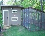 Chicken Coop with run - details on design and build on page