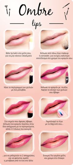 Ombre Lips, sure wish this was in English!