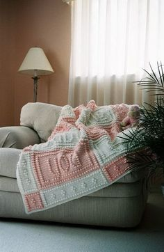 HUSH pattern for crocheted blanket by ColorandShapeDesign on Etsy, $5.00
