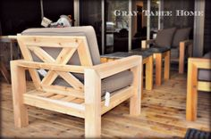 Past Projects - Gray Table Home