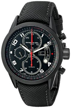 Raymond Weil Men's Chronograph Automatic Watch Swiss Luxury Watches, Luxury Watches For Men, Jewellery Exhibition, Raymond Weil, Mens Watches Leather, Watch Sale, Watch 2, Casual Watches, Automatic Watch