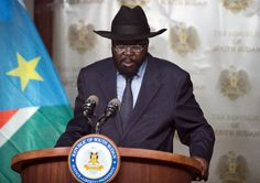 GOVERNMENT In this picture, president Salva Kiir of South Sudan is giving a speech. In South Sudan, the government has the same three branches as Sudan and the United States. In the legislative branch, there are two houses; the upper house, or the National Legislative Assembly, and the lower house, known as the Council of States. The upper house is directly elected like the Senate, but the lower house is appointed by the president.