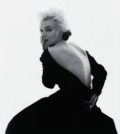 Bid now on Marilyn Monroe in The Famous Black Dress for the Cover Tribute in Vogue (from The Last Sitting) by Bert Stern. View a wide Variety of artworks by Bert Stern, now available for sale on artnet Auctions. Bert Stern, Marylin Monroe, Audrey Hepburn, Robes Christian Dior, Photos Des Stars, Dior Gown, Gisele Bündchen, Isabelle Adjani, Ex Machina