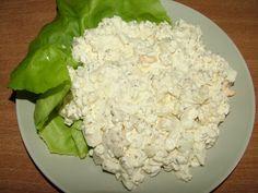 Smak Zdrowia: Serek wiejski z jajkiem Lettuce, Potato Salad, Cabbage, Grains, Rice, Cooking Recipes, Potatoes, Yummy Food, Vegetables