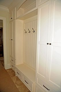 Mud Room- walls like kitchen