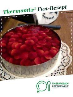 Erdbeer-Windbeutel-Torte von bangy. Ein Thermomix ® Rezept aus der Kategorie Backen süß auf www.rezeptwelt.de, der Thermomix ® Community.