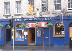 The World's End pub in Edinburgh.  (from Outlandish Observations: Karen Henry's trip to Scotland, Part 8)