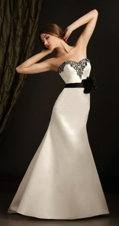 robe de mariee wedding evening dress