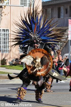 139 Kingdom Day Parade - Native American Indian