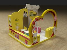 Nido Mother's Day Booth by Hossam Moustafa, via Behance