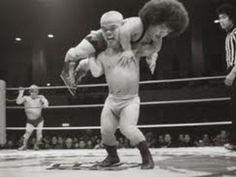 Professional midget wrestling