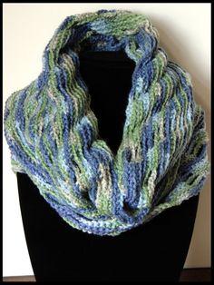 Crochet : Bufanda Infinita Circular