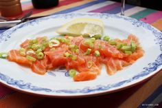 Norwegian salmon, Lazy days in Oslo - Good food and good friends - Oslo Blog | Mitzie Mee