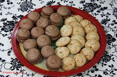 FrenchChocolate Macaron / Italian Pignoli Cookies