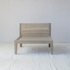 Slatted Teak Chair in Outdoor Living Outdoor Seating at Terrain
