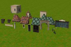 Custom Scenery Depot - Theme Park Games - Fantasyland