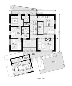 Honkarakenne Designs a Modern Eco-Home for Three Generations in Vantaa, Finland