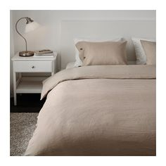 80€ LINBLOMMA Funda nórd y 2 fundas almohada - 240x220/50x60 cm - IKEA
