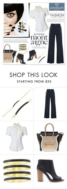 """""""Amorium"""" by water-polo ❤ liked on Polyvore featuring Amorium, Chloé, Avenue, CÉLINE, Forever 21, women's clothing, women's fashion, women, female and woman"""