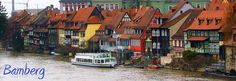 This was in the town we lived in :) Little Venice in Bamberg, Germany
