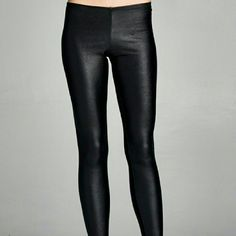 Essential Black Leggings S and L only Basic black leggings  Size Available S L  Price Firm Pants Leggings