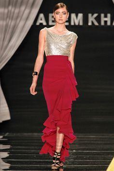 #Naeem_Khan Spring 2012 RTW  #fashion #couture