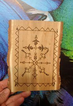 The Leader, runic pendant, plaque Norse home, Viking decor, Asatru, Altar, Heathen, Pagan, Viking gift, Viking new home