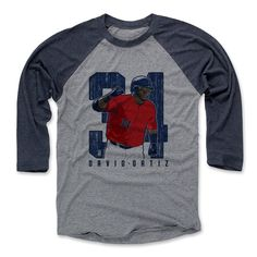 David Ortiz Clutch B Boston Officially Licensed MLBPA Baseball T-Shirt Unisex S-3XL
