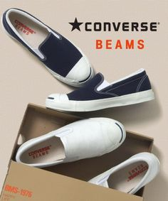 converse x beams jack purcell slip on