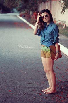 Blog da Lê-Moda Acessível: Jeans e short