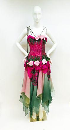 Miami Vintage: 1980's Zandra Rhodes Floral Gown www.shopmiamivintage.com