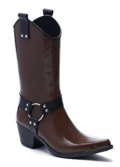 Cowboy rain boots...seriously I need em