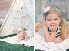 dreamy patchwork tent {Lil Blue Boo} I am so tempted to cut up some vintage sheets and pillowcases and whip one of these up... so dreamy!