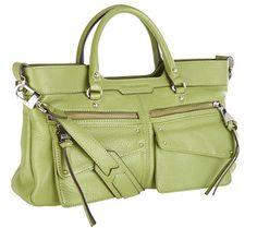 Aimee Kestenberg Pebble Leather East/West Satchel - Lindy - A267396 — QVC.com