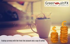 Open a forex live account with leading greenvaultfx.