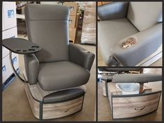 Our luxurious no-plumbing pedicure chairs come in a variety of unique styles & beautiful designs. Dorset pipe-free professional spa pedicure chair with raised platform Pedicure Bowls, Pedicure Chair, Pedicure Spa, Pedicure Designs, Nail Designs, Nail Salon Design, Salon Interior Design, Schönheitssalon Design, Pedicure Station