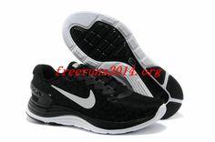Oq6dEG Nike #LunarGlide 5 Shield Black Reflective Silver Summit White Mens Shoes #nike #lunar