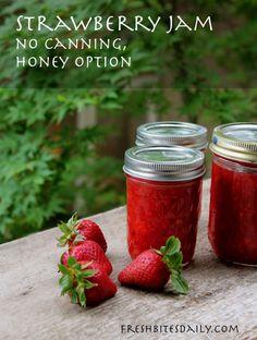Strawberry freezer jam: A quick no-canning solution for strawberry jam