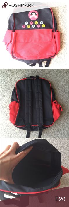 77c21ec9a Shop Kids' Paul Frank Black Red size One size Bags at a discounted price at  Poshmark. Perfect for school or any trip!