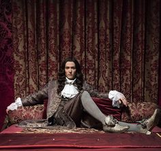 A gallery of Versailles publicity stills and other photos. Featuring George Blagden, Alexander Vlahos, Evan Williams, Stuart Bowman and others. Versailles Bbc, Versailles Tv Series, Louis Xiv, Alexander Vlahos, Mode Rococo, Beautiful Men, Beautiful People, George Blagden, Evan Williams