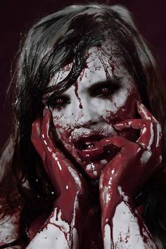 Fulfillment Horrify Me - horror photography, photographic portrait, zombies… Horror Make-up, Arte Horror, Horror Movies, Slasher Movies, Gothic Horror, Diy Halloween, Halloween Makeup, Horror Photography, Dark Photography