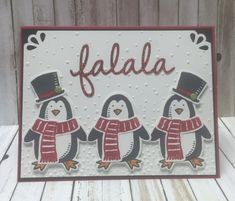 StampwithPeggy.com, Snow Place stamp set, Snow Friends Framelits, Christmas Greetings Framelits, Softly Falling Embossing Folder