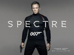 First Poster for Spectre with Daniel Craig as Bond Out  #InStyle