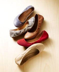 3f45d4c42fa9 Lucky Brand Emmie Ballet Flats - Shady Spruce 5.5M Tan Flats