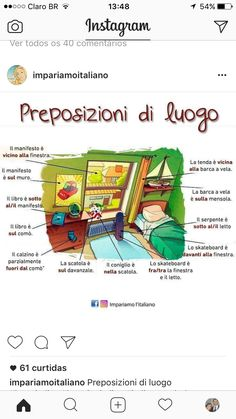 Italian Grammar, Italian Language, Learn To Speak Italian, Learning Italian, Idioms, Teacher, Education, Italian Vocabulary, Words