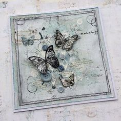 Hi everyone time for our February challenge over at Stamps and Stencils and Rachel is our lovely challenge theme setter this month; Butterfly Drawing, Butterfly Cards, Mixed Media Cards, Craftwork Cards, Shabby Chic Cards, Pretty Cards, Diy Arts And Crafts, Card Tags, Creative Cards