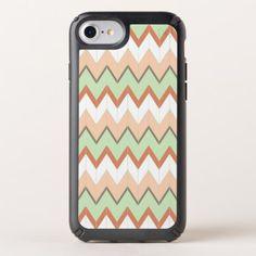 Pretty Retro Chic Geometric Chevron Zigzag Pattern Speck iPhone Case - beautiful gift idea present diy cyo